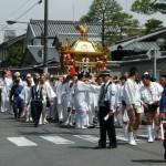 大豊神社の春祭り