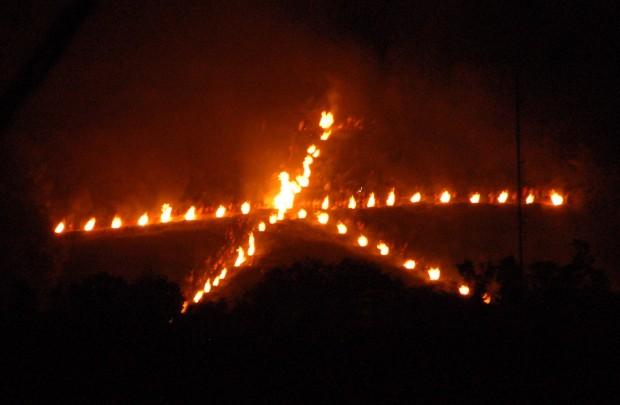 20140816 (2)大文字山 送り火