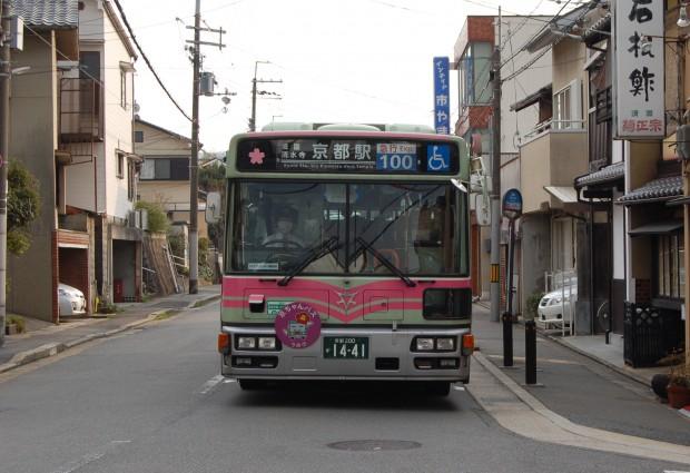 ②15.03.22 (104)鹿ケ谷通(法然院バス停