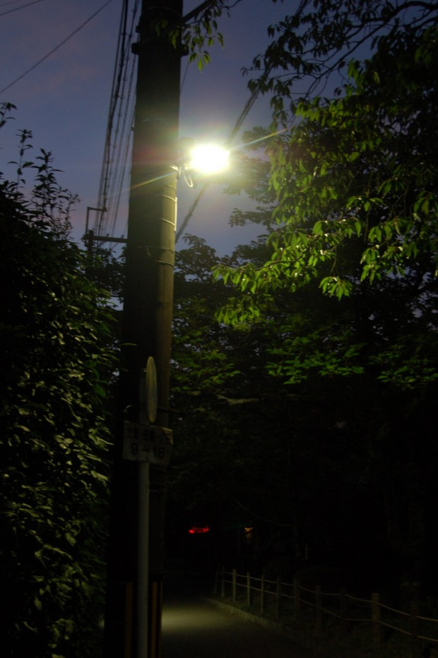 ②A 15.08.05 (5)LED街灯 哲学の道南田橋